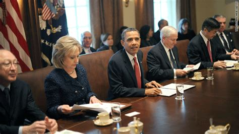Obama Cabinent by Cabinet Meeting The 1600 Report Cnn Blogs