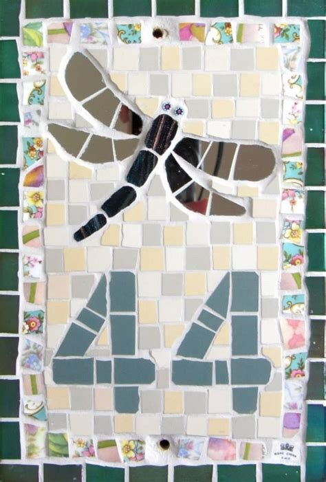 mosaic pattern names 20 best ceramic name plaque images on pinterest house