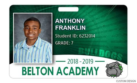 High School Id Card Templates by Id Card Details H H Color Lab