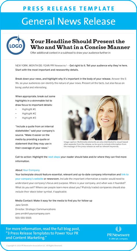 new release template 3 press release templates to power pr content