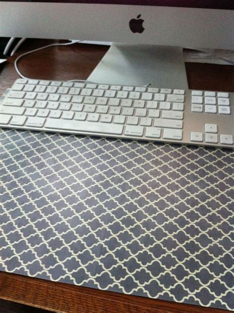 diy desk pad 25 best ideas about cubicle makeover on