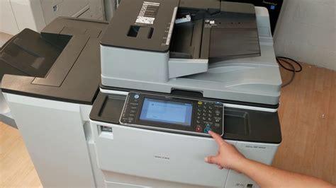 wasted mp ricoh aficio mp 6002 b w copier printer scan and fax