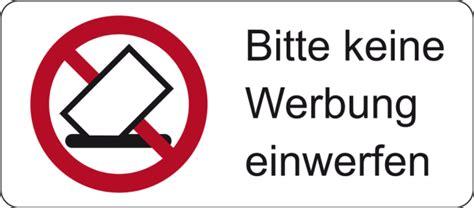 Sticker Keine Unadressierte Werbung by Bitte Keine Werbung Einwerfen Schlemmer Gmbh