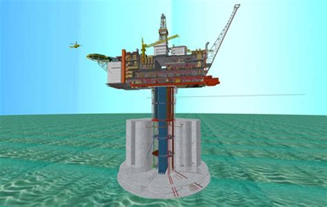 A C C E P T Melvern Platform White exxon mobil to develop hebron field offshore canada