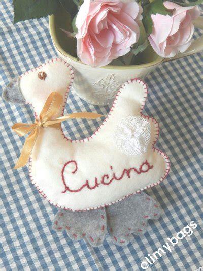 come si cucina la papera papera di pannolenci stile country per la cucina handmade