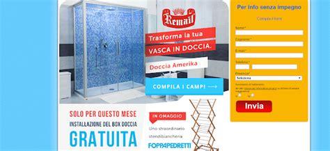 remail doccia costo costo trasformazione vasca in doccia telodicoio