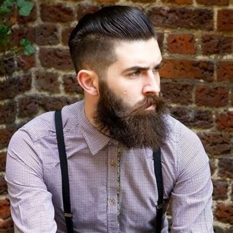 pompadour hairstyle with beard 60 pompadour haircut suggestions for 2016 men hairstylist