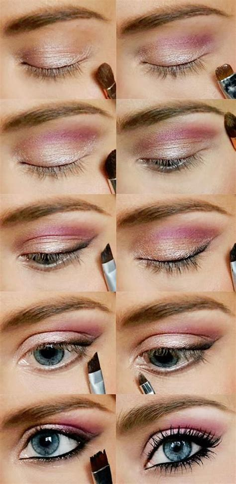 eyeshadow tutorial day 15 easy step by step valentine s make up tutorials for