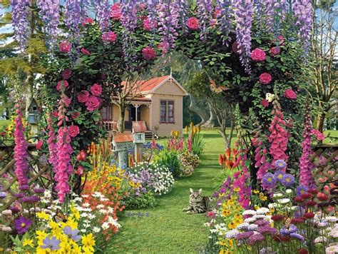 Cottage Garden Pixdaus Flowers For A Cottage Garden