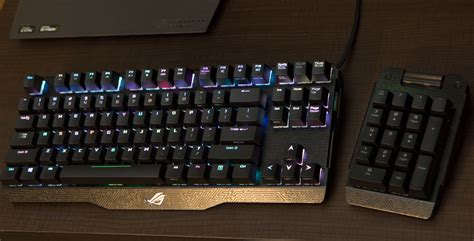 Keyboard Asus Rog Claymore ces 2016 rog s killer peripherals claymore spatha and 7 1 headset rog republic of gamers