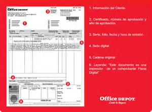 the home depot facturacion contabilidad on line