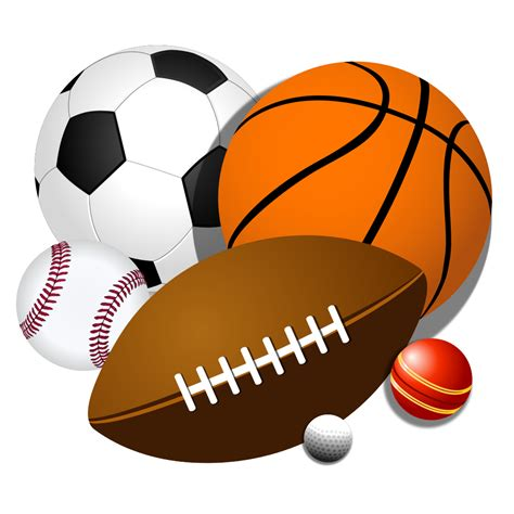 sports clipart large sports balls png clipart