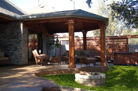 Backyard Porches by Patio Cover And Porches Traditional Porch
