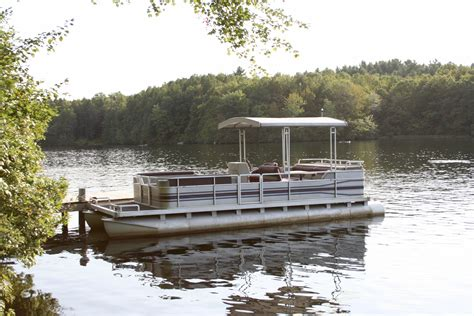 pontoon boats you can sleep on cing on a pontoon boat gone outdoors your adventure