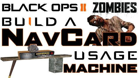 tutorial zombies black ops navcard usage machine tutorial call of duty black ops