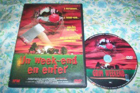 film horreur version francais dvd un week end en enfer film d horreur luckyfind