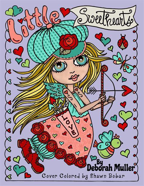 little sweethearts little sweethearts by deborah muller deborah muller archives coloring queen