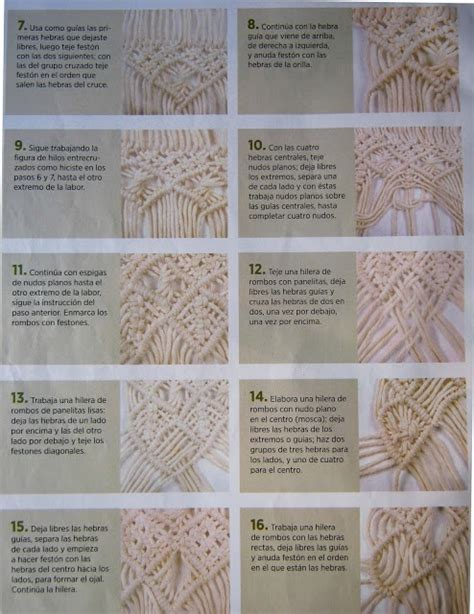 Macrame Tutorials Free - 75 best macrame sewing stitches images on