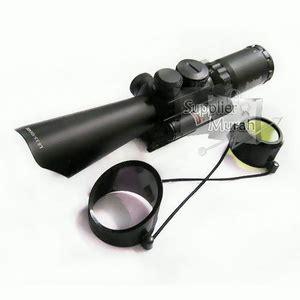 Teropong Tele Senapan Laser Merah M6 jual teropong senapan riflescope m8 bushnell ls 3 5 10x40e