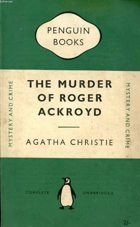 The Murder Of Roger Ackroyd Agatha Christie how can agatha christie help your workplace skills charaderie