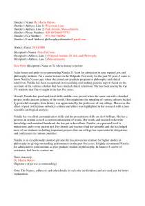 Free personal letter of recommendation templates ajvpocze