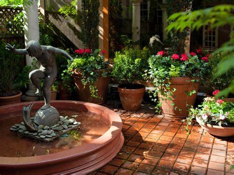 mediterranean style garden amber freda hgtv