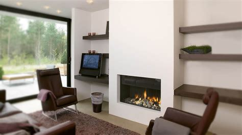 Hole In The Wall Fireplace I Contemporary Fireplaces