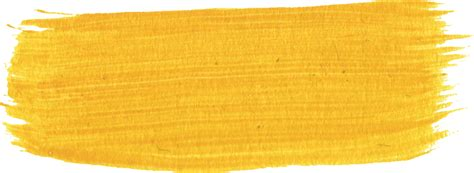 yellow paint 11 yellow paint brush strokes png transparent onlygfx
