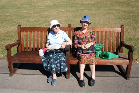 bench ladies free old ladies on a bench stock photo freeimages com