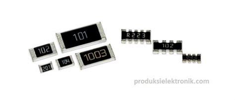 ukuran resistor smd manajemen produksi elektronika