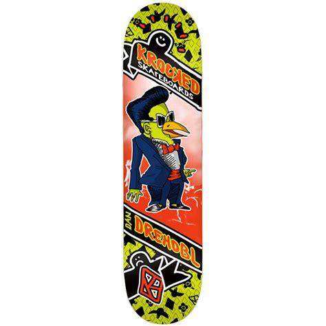 krooked deck krooked drehobl songbirds 8 06 skateboard deck evo
