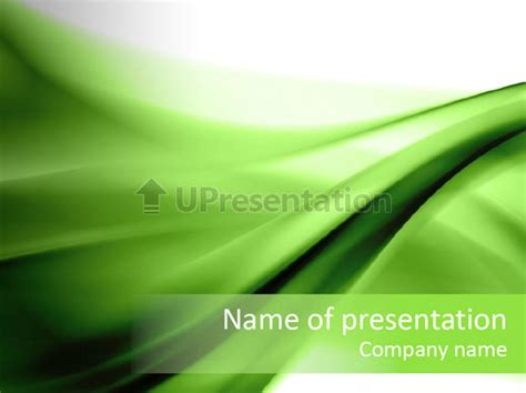 ppt templates for wsn vert composition abstraite mod 232 les powerpoint id