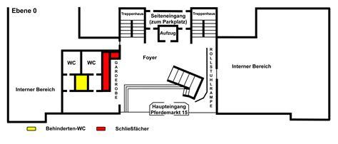 foyer grundriss 220 ber die landesbibliothek oldenburg lageplan grundriss