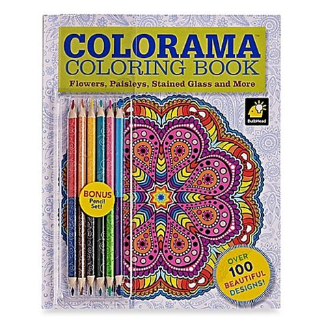 colorama coloring book review colorama flowers paisleys stained glass and more