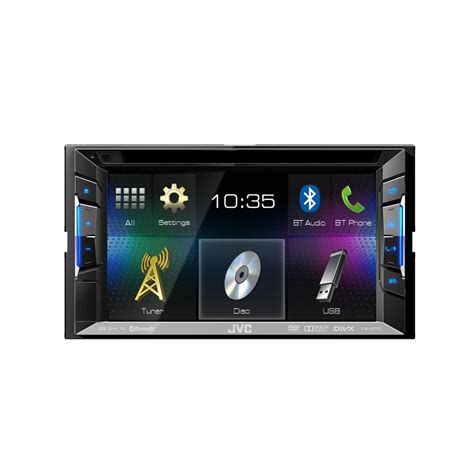 Unit Doble Din Avi kw v215dbt din av unit with built in bluetooth and dab