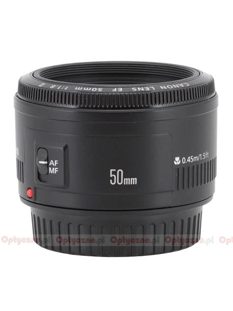 Lens Canon Ef 50mm F 1 8 Ii canon ef 50 mm f 1 8 ii review introduction lenstip