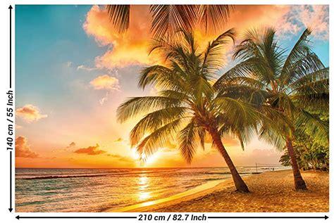 Dekoartikel Strand Meer by Fototapete Barbados Wandbild Dekoration Urlaub