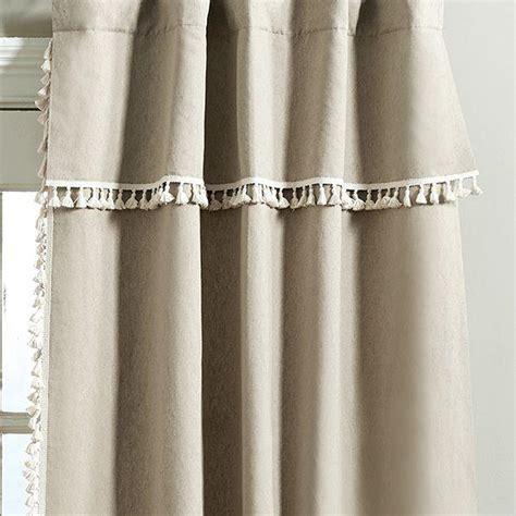 taupe geometric print gatehill curtain panels