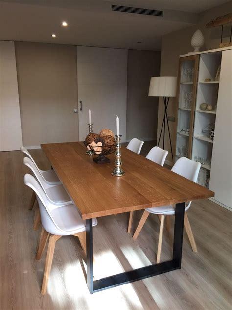 mesa de forja roma tarragona comedores mesa sala de