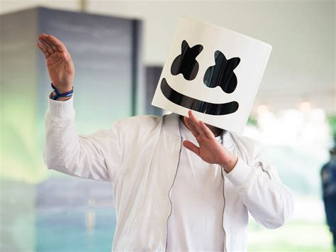 marshmello you and me singer electronic music dj marshmello has his own cooking show on