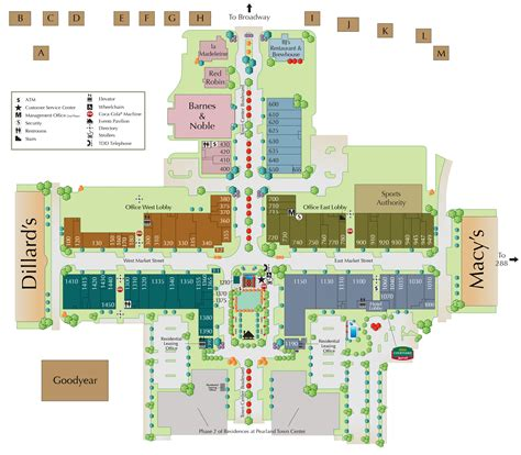 memorial city mall map mall directory pearland town center
