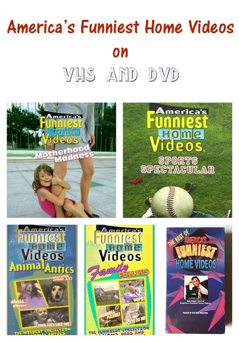 america s funniest home on vhs and dvd s my