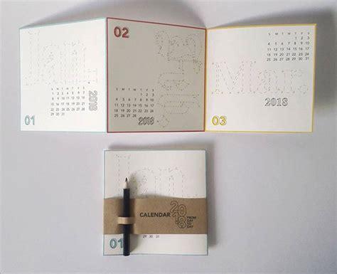 Calendar 2018 Design Ideas 18 Various Styles Wall Desk Calendar Design Ideas 2018
