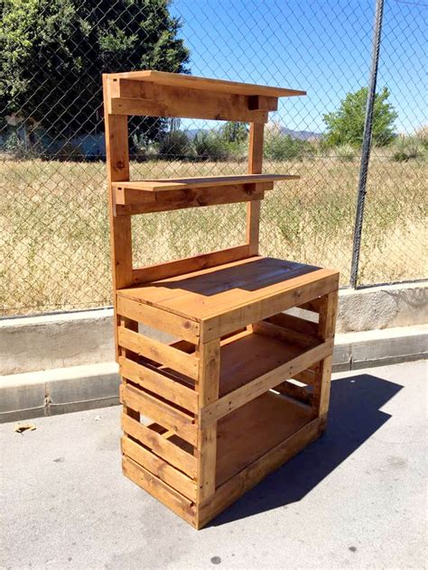 make a potting bench build a potting bench out of pallets pallet furniture diy