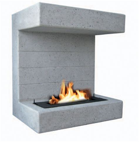 Outdoor Hanging Fireplace by Prestigious Fires Salerno Outdoor