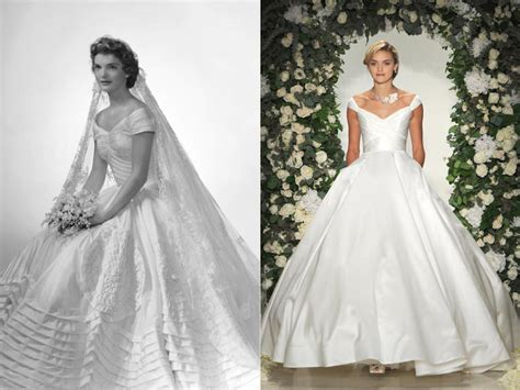 Jackie O Style Wedding Dresses by The Most Iconic Wedding Dresses Of All Time Cheap