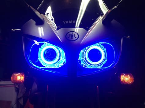 Led Motor Beat cob led halo headlight accent lights with constant current