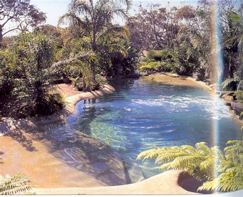 backyard lagoon a backyard lagoon beach bungalow pinterest