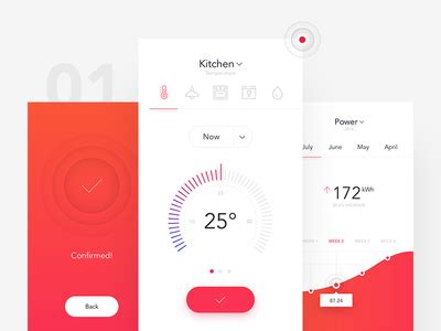 home design app not working smarthome app by michal parulski dribbble