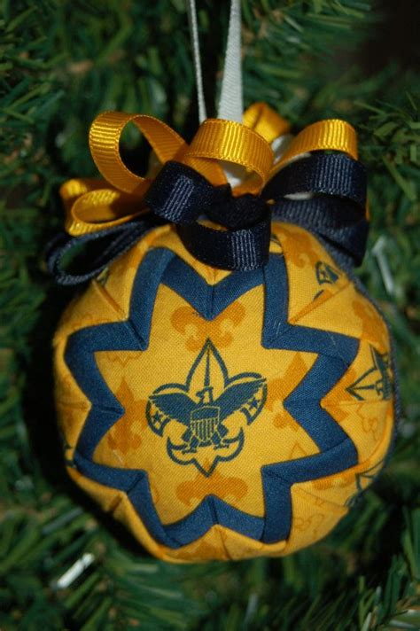 what to get an eagle scout for christmas boy scout folded ornament on etsy 9 99 den business ornaments